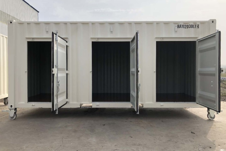 20FT 6 LATERAL DOORS
