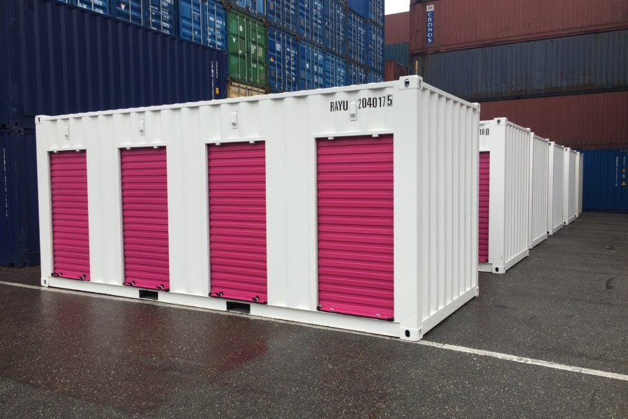 20FT SELF-STORAGE PINK