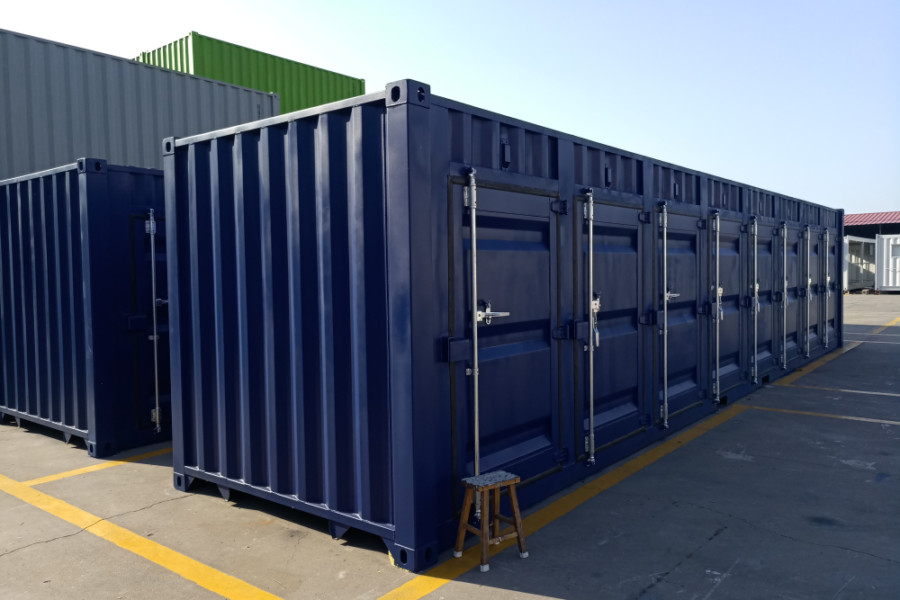 40FT 6 LATERAL DOOR SELF-STORAGE