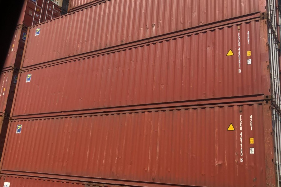 40'DV A grade export