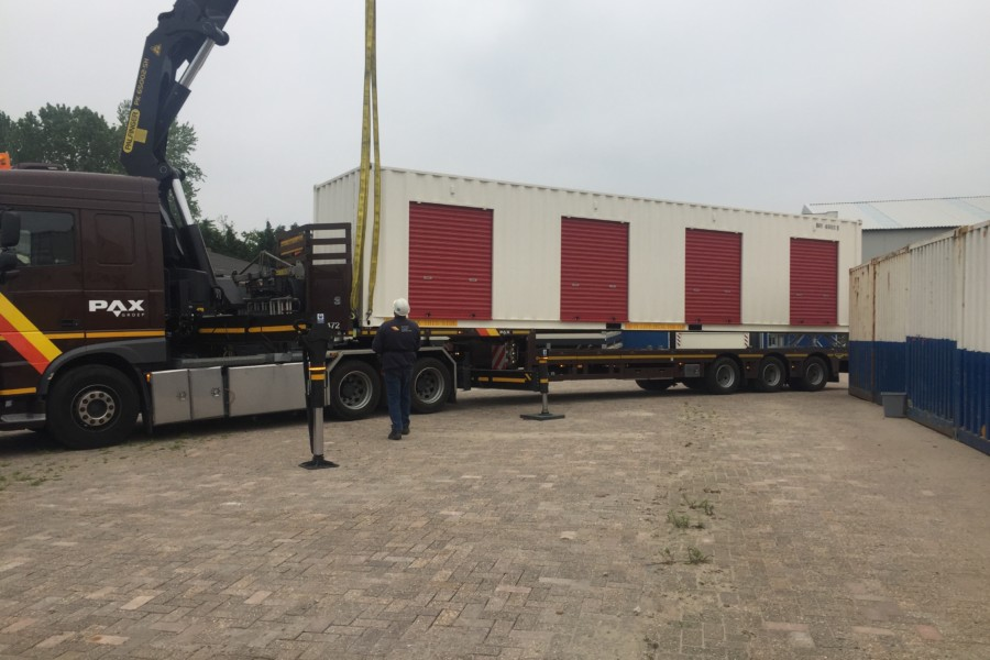 40FT ROLLER SHUTTER CONTAINER