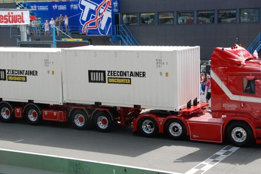 Zeecontainer-Discounter Truckstar